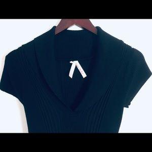 Derek Heart Knit Sweater Dress M